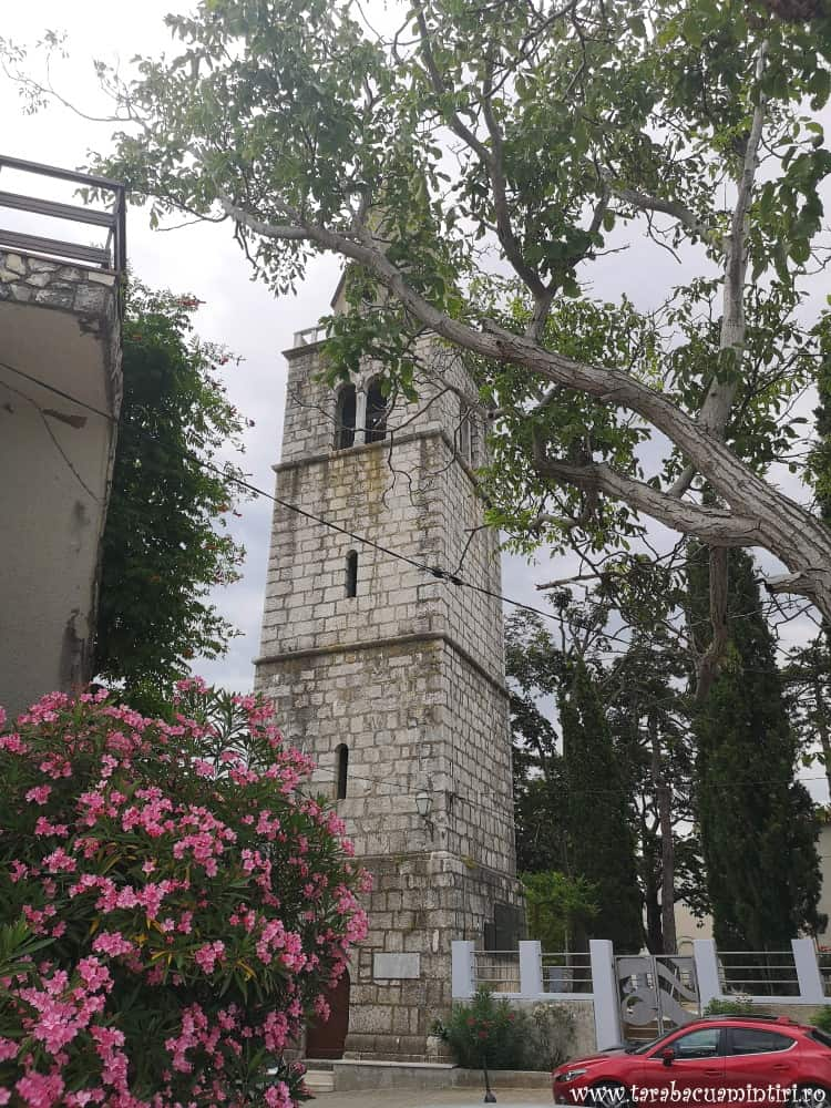 turnul bisericii din Dobrinj