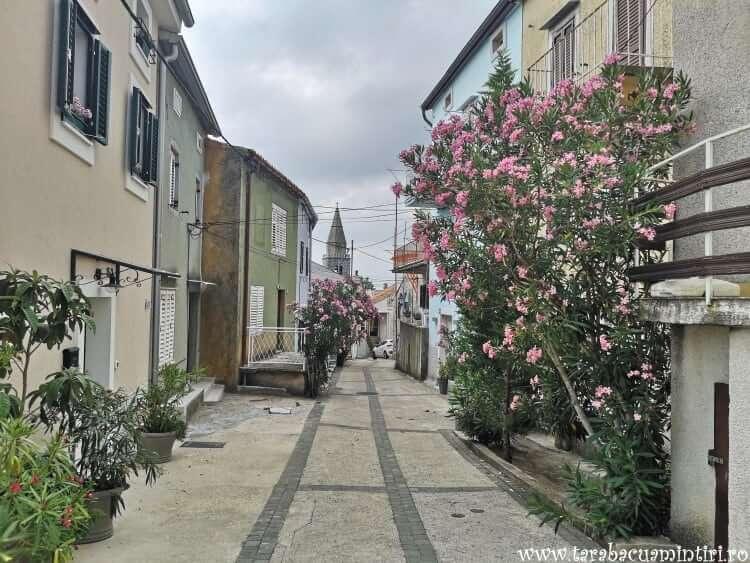 străzi din insula Krk