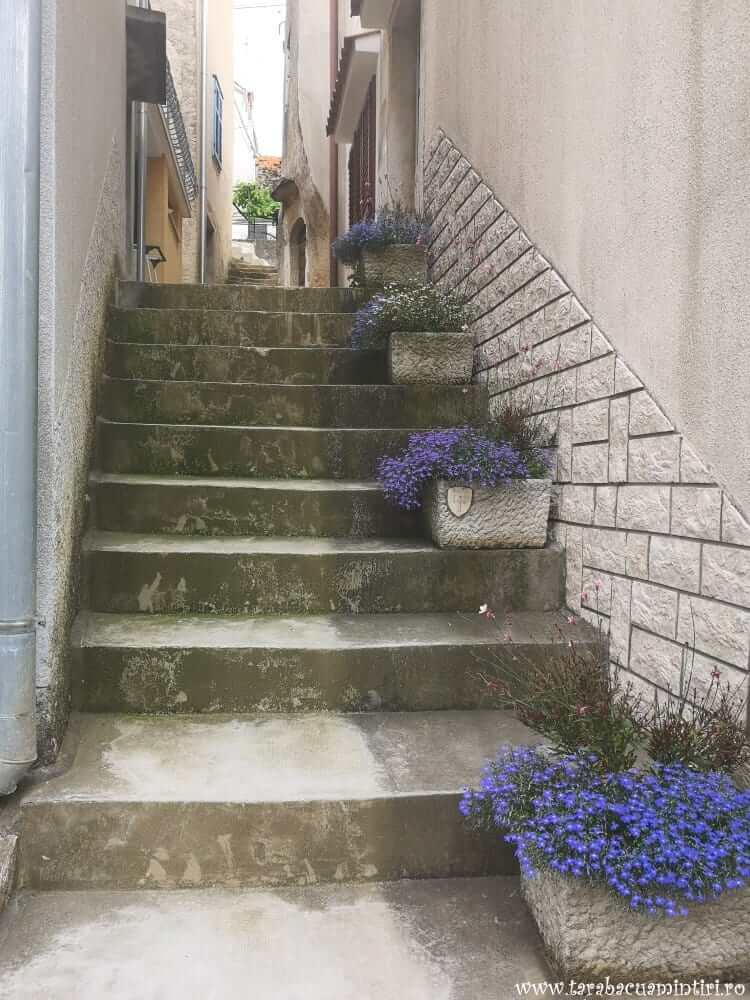 străzile din Dobrinj, insula Krk