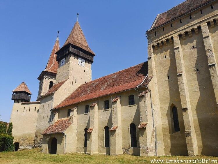 bisericile fortificate transivanene